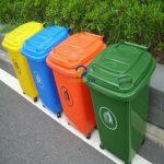 Thùng rác nhựa có bánh xe