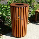 Thùng rác giả gỗ