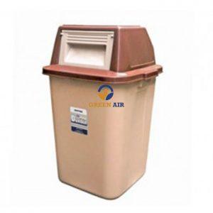 Thùng rác nhựa nắp lật đại Duy Tân