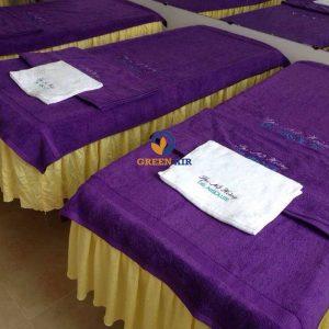 Khăn trải giường spa giá rẻ
