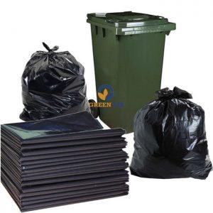 Túi rác đen khổ lớn