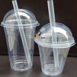 Cốc nhựa có nắp dùng 1 lần