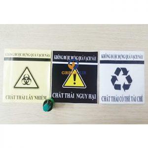 Logo Túi đựng rác thải y tế