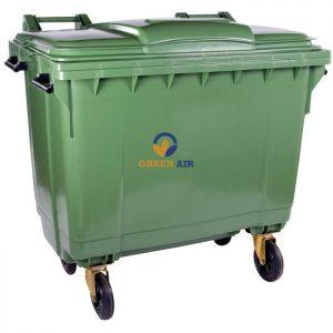 Thùng rác 660l
