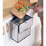 Thùng rác treo cánh tủ bếp