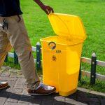Thùng rác y tế 120 lít