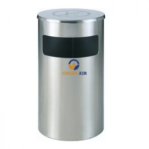 Thùng rác inox cấm hút thuốc